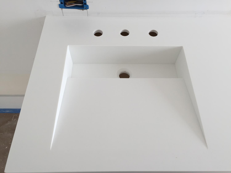 Perfect Custom Corian Sink