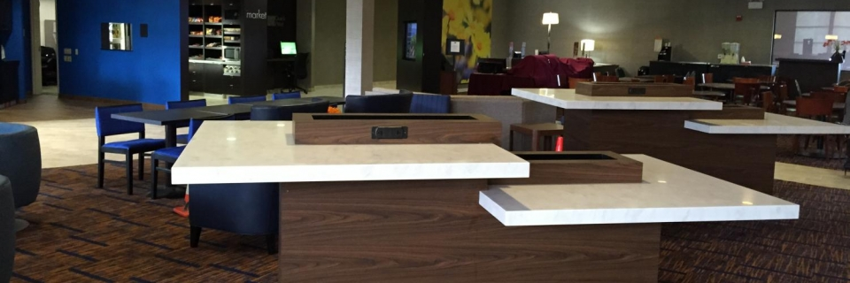 division fabricators mcdonalds countertops dsp surface platinum corian commercial solid aia