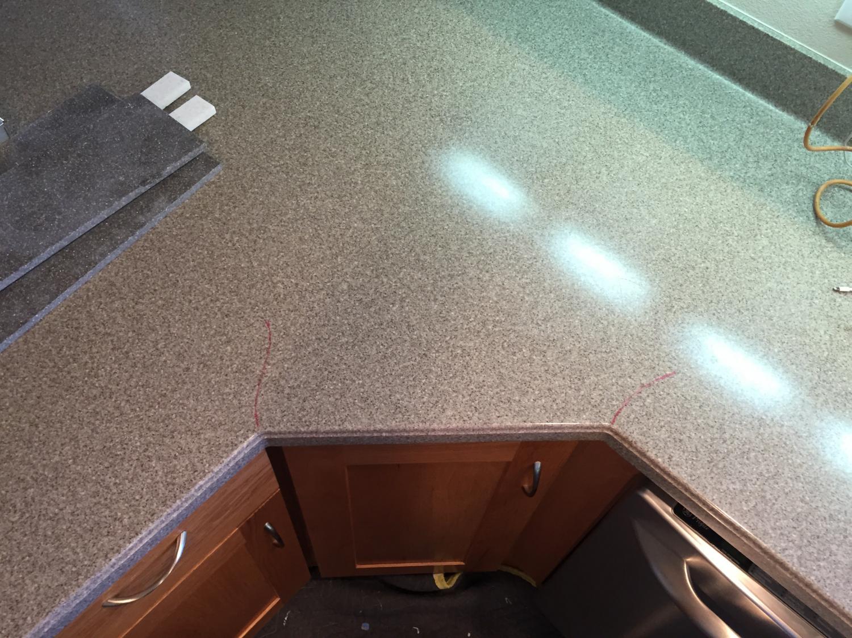 Countertop Repair : ... Quartz countertops Contact Us Commercial Countertops Countertop Repair